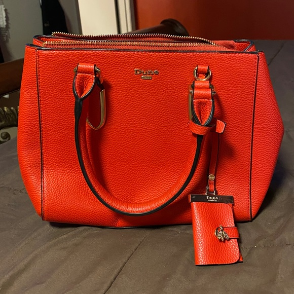 DUNE London red purse